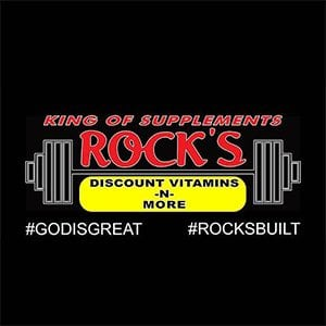 rock's vitamins logo