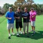 Golfers at Blue Cares Golf Tournament