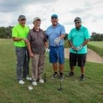 Golfers at the tournament