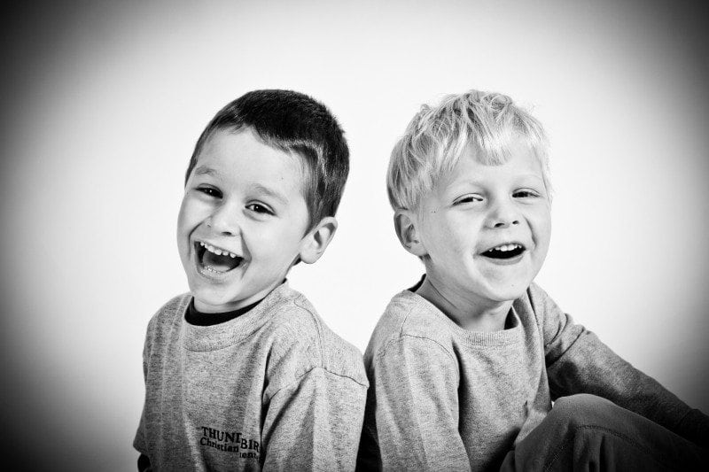 stock image of boys