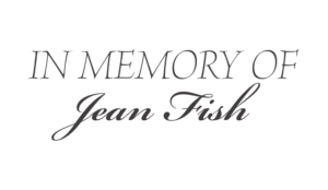 In Memory of Jean Fish