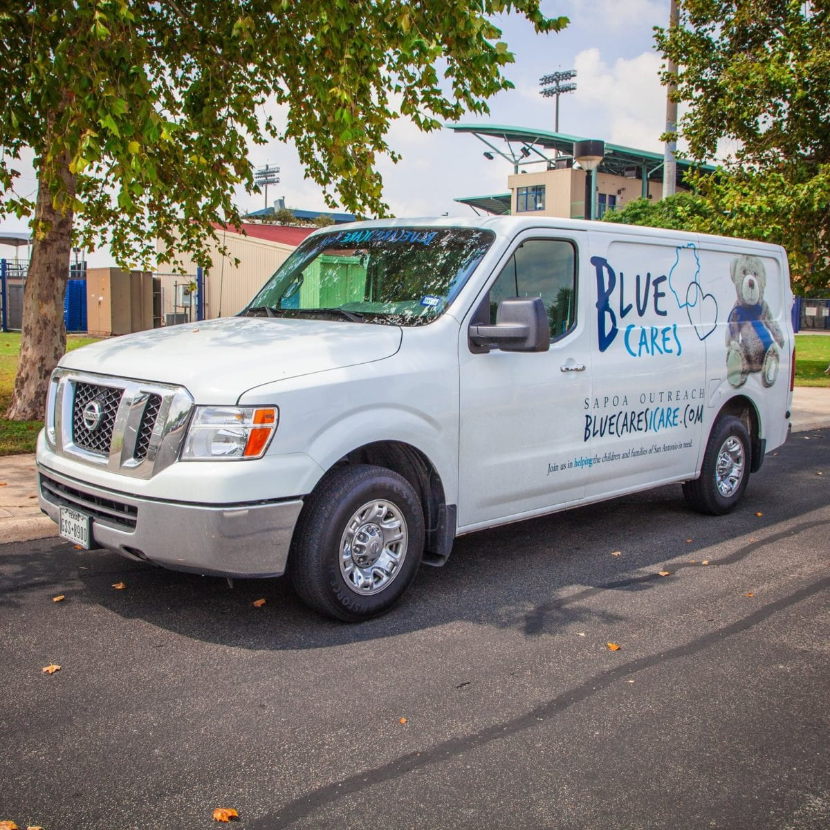 Blue Cares outreach van
