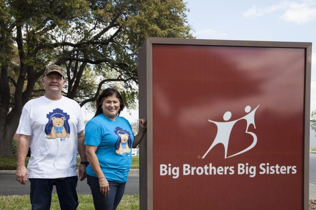 Blue Cares Big Give 2018 at Big Brothers, Big Sisters