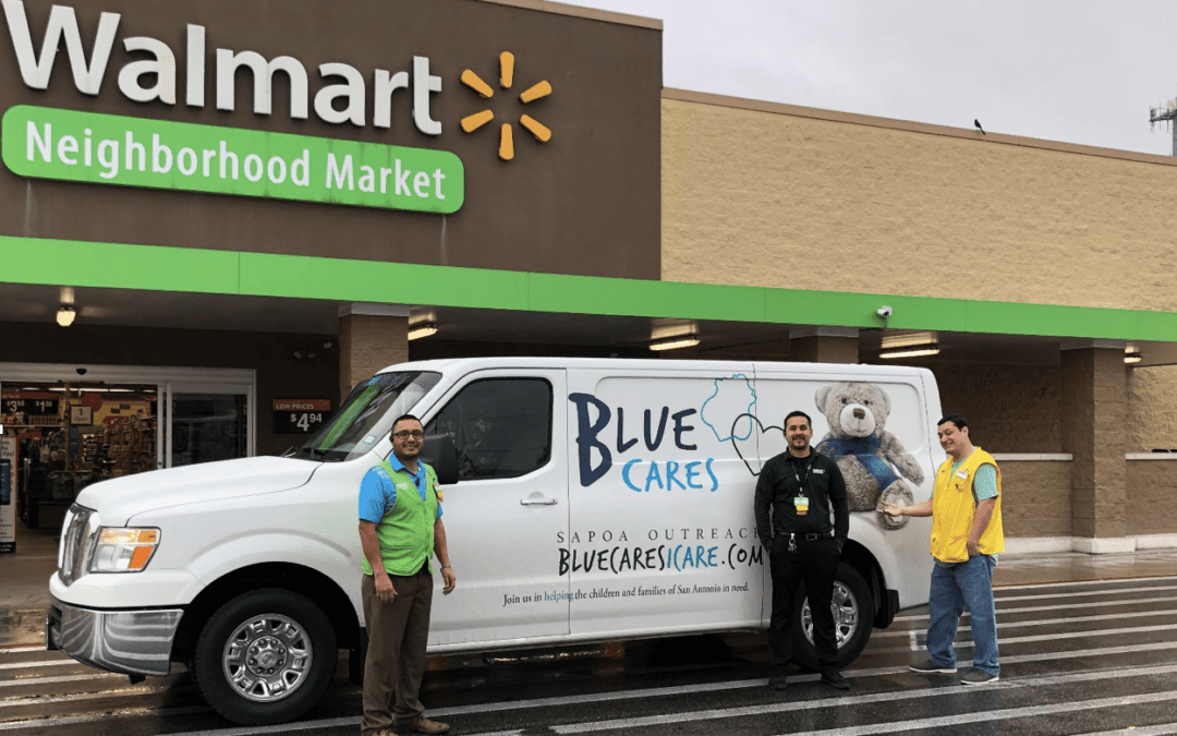 Walmart Foundation Grants Blue Cares $25,000