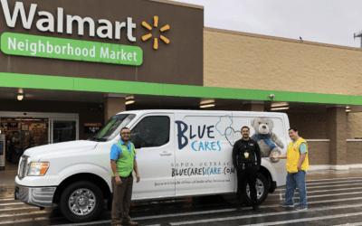 Walmart Foundation Grants Blue Cares $25,000