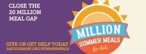 SAFB Million Summer Meals