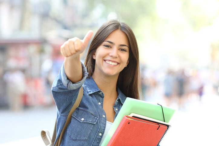 High School Student Scholarship Recipient