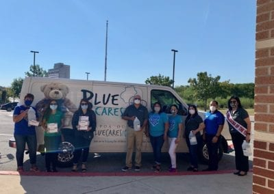 Blue Cares Bus