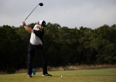 Big Swing at the 2020 Annual Blue Cares Golf Tournament