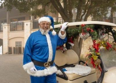 Blue Cares Santa