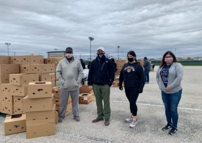 Blue Cares and the San Antonio Food Bank
