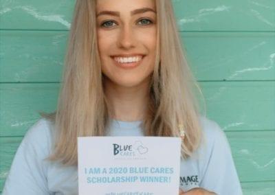 2020 Blue Cares Scholarship Winner