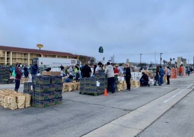 Blue Cares and the Food Bank