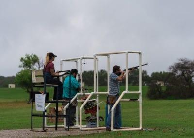 Clay Shoot Participants