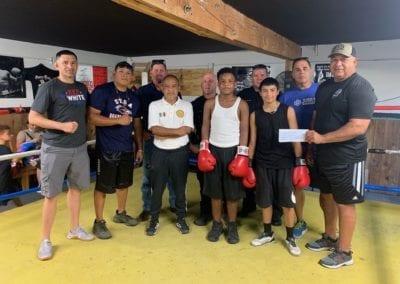 Cardona's Boxing & Blue Cares